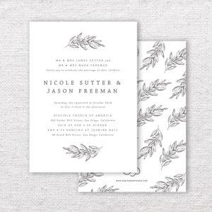 Wedding Invitation Templates
