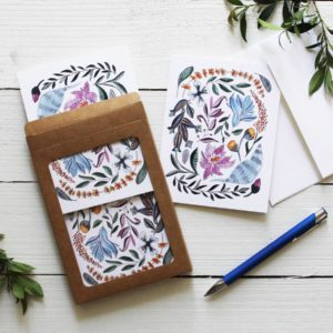 Floral Jungle Card | East to West Studio