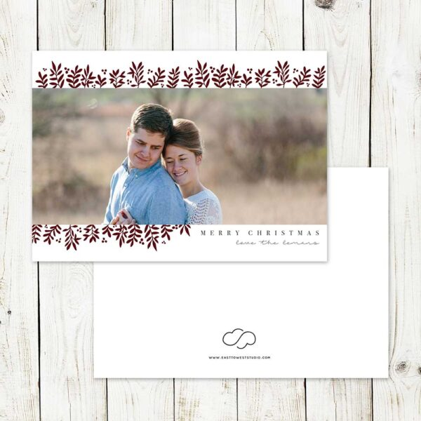 All is Calm Christmas Card | East to West Studio