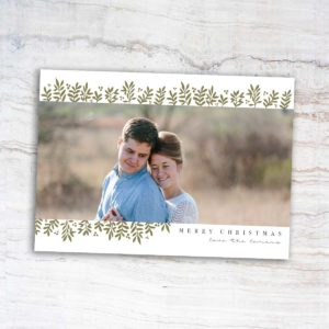 All is Calm Christmas Card   East to West Studio