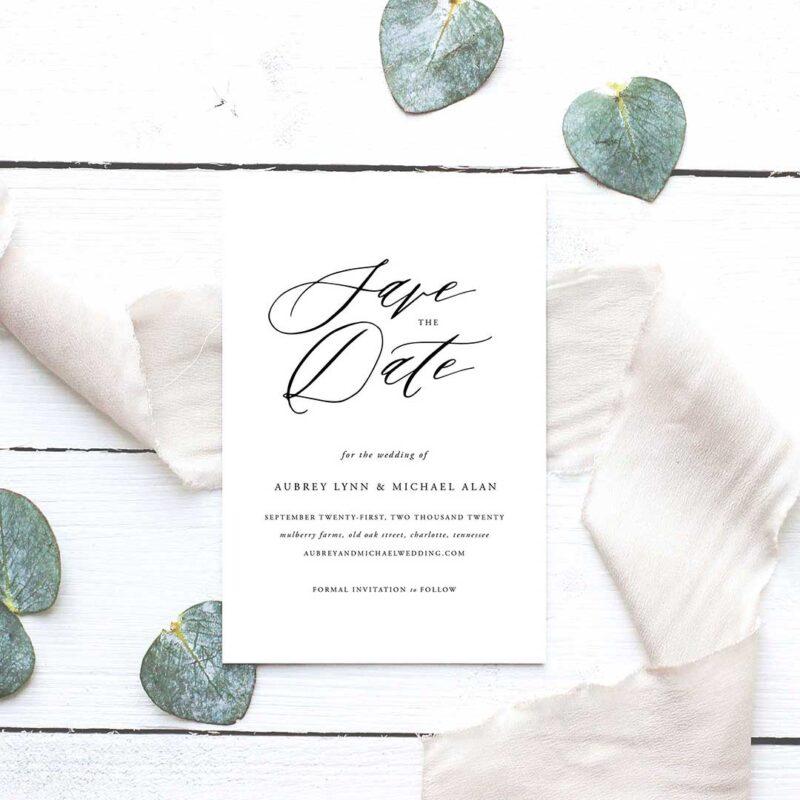 Aubrey Wedding SavetheDate